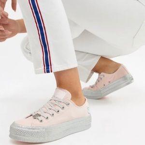 Converse x Miley Cyrus platform sneakers